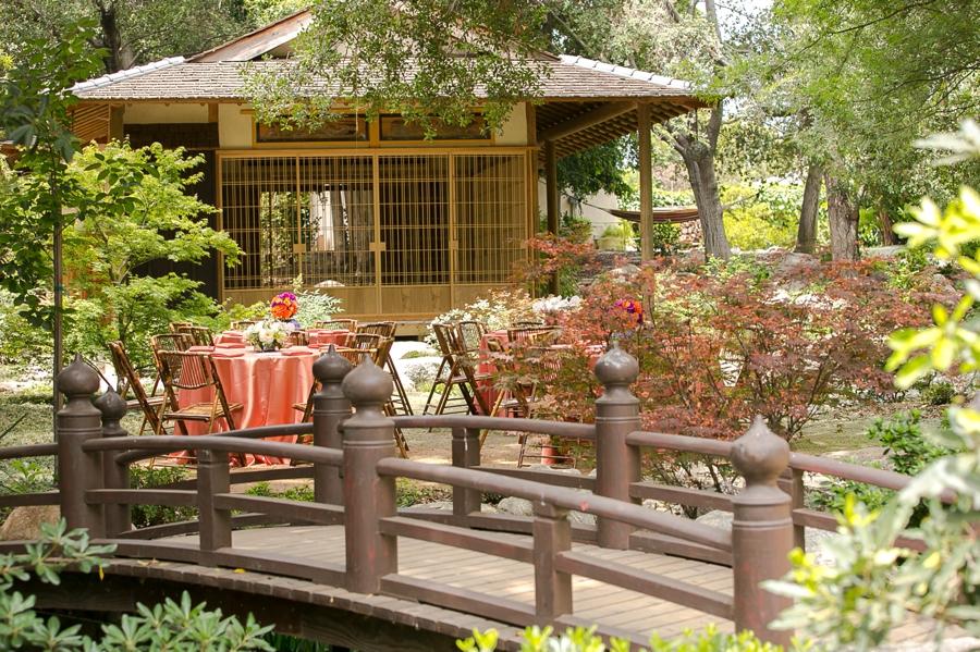 Los Angeles Japanese Garden: Pasadena CA Wedding & Reception Venue