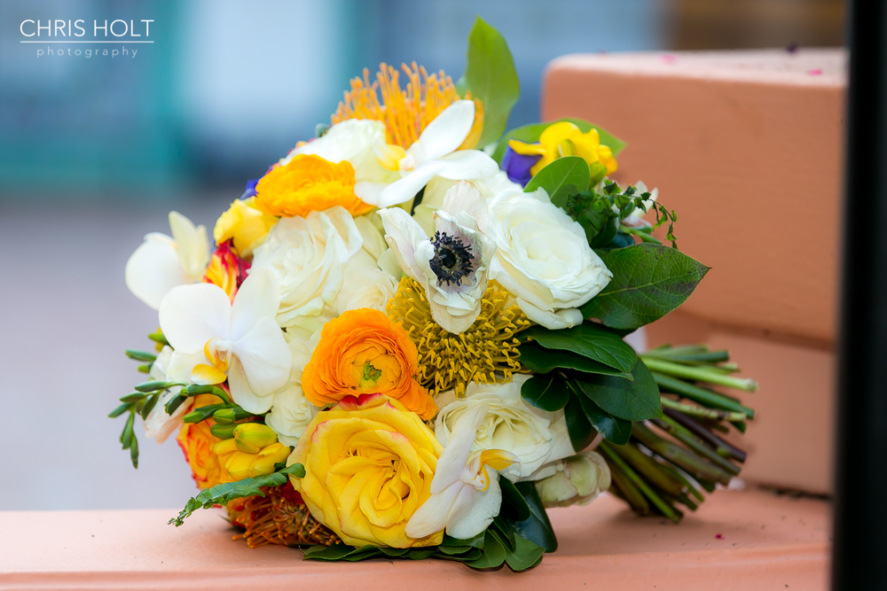 rancho las lomas wedding florals