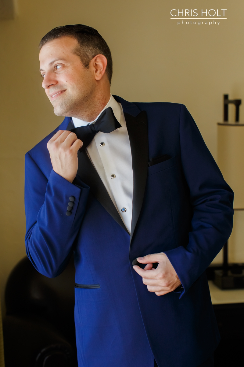 WEDDING, GROOM, GREEK, GREEK ORTHODOX, SANTA BARBARA GREEK ORTHODOX CHURCH, SANTA BARBARA, HYATT, HANDSOME, DAPPER, CANDID, PORTRAITS, PREPARATION