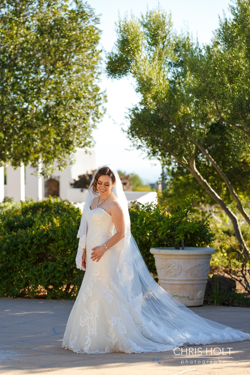 WEDDING, BRIDE, GREEK, GREEK ORTHODOX, SANTA BARBARA GREEK ORTHODOX CHURCH, SANTA BARBARA, HYATT, BEAUTIFUL, CANDID, ROMANTIC, PORTRAITS, BRIDAL, GOWN, VEIL, JEWELRY, DETAILS