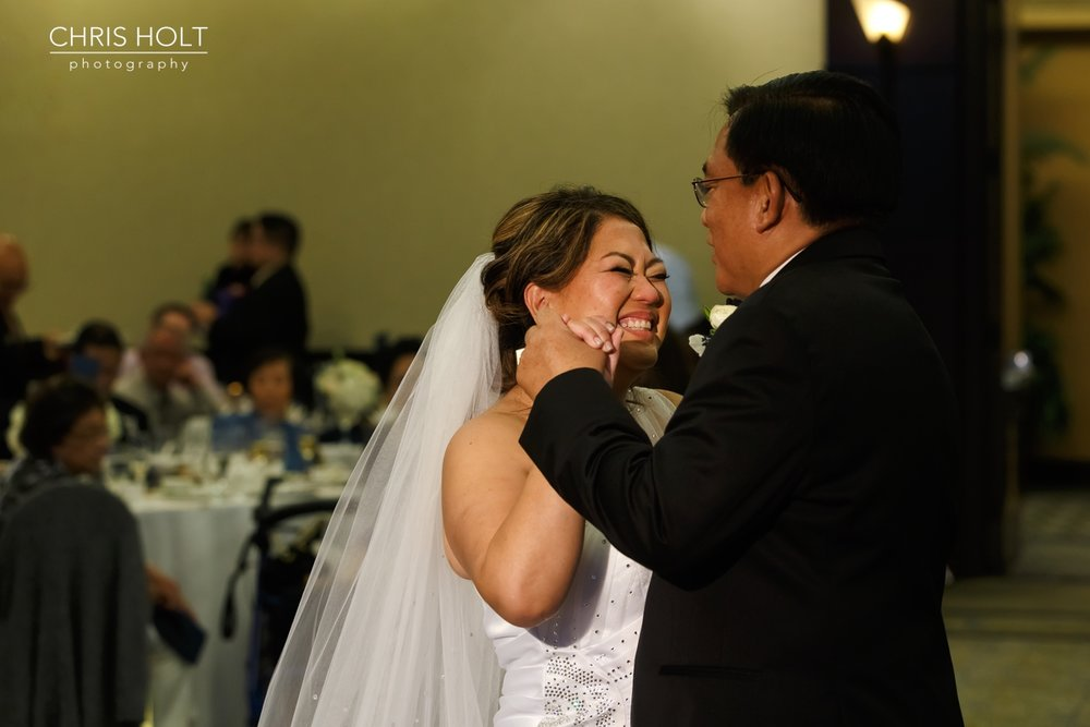 reception, venue, ballroom, dance floor, dancing, mother son, father daughter, formal dance, first dance