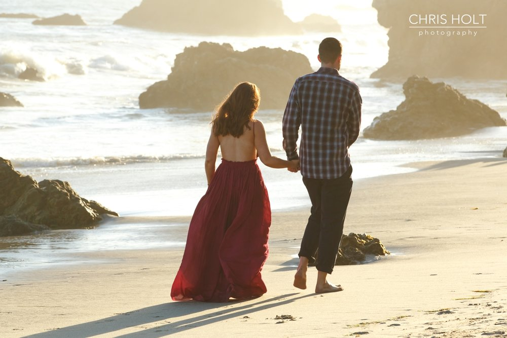 proposal, el matador, engagement, malibu, los angeles, surprise, beach, sunset, southern california, destination, wedding, photographers near me, santa barbara, new york, new jersey