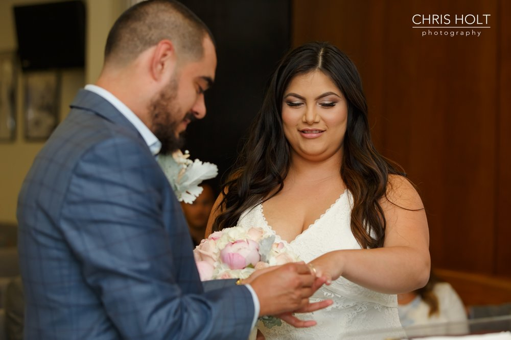 Beverly Hills, Courthouse, Wedding, Portraits, Civil Ceremony, Family, Candid