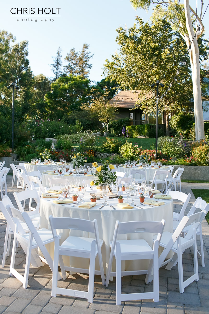 outdoor reception, maravilla gardens, camarillo, intimate wedding, casi cielo events and flowers, photographers near me, chris holt
