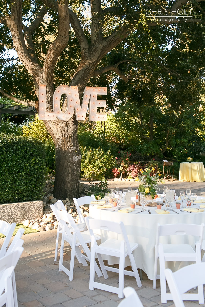outdoor reception, love, maravilla gardens, camarillo, intimate wedding, casi cielo events and flowers, photographers near me, chris holt