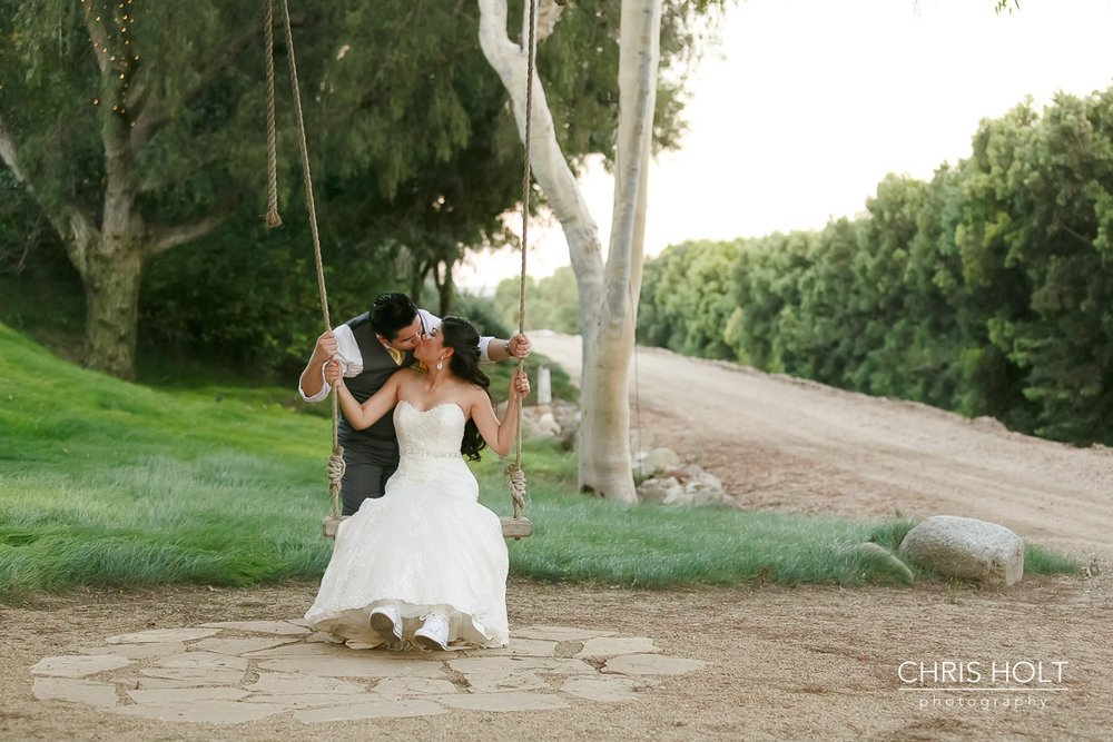 garden swing, trail, rustic, couple, maravilla gardens, camarillo, intimate wedding, photographers near me, chris holt