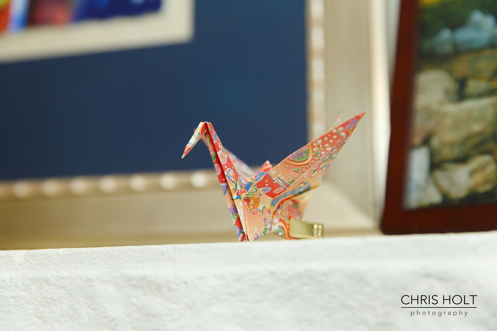 Pasadena Wedding Origami Crane DIY