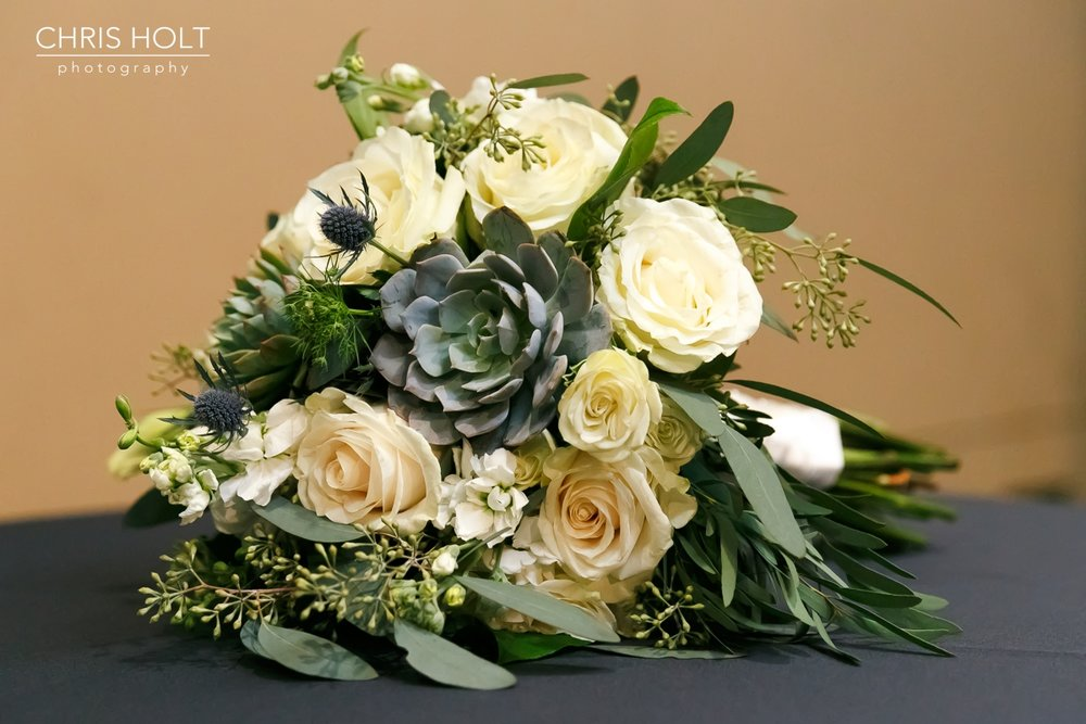 bridal bouquet at Fullerton Community Center