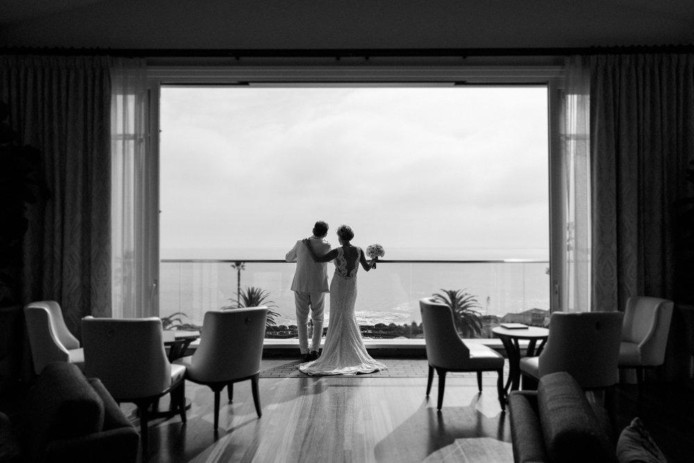 Montage Laguna Beach Wedding Silhouette