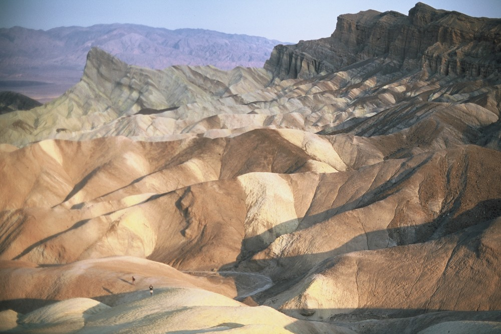 Zabriskie Point, Death Valley, California, 2012.
