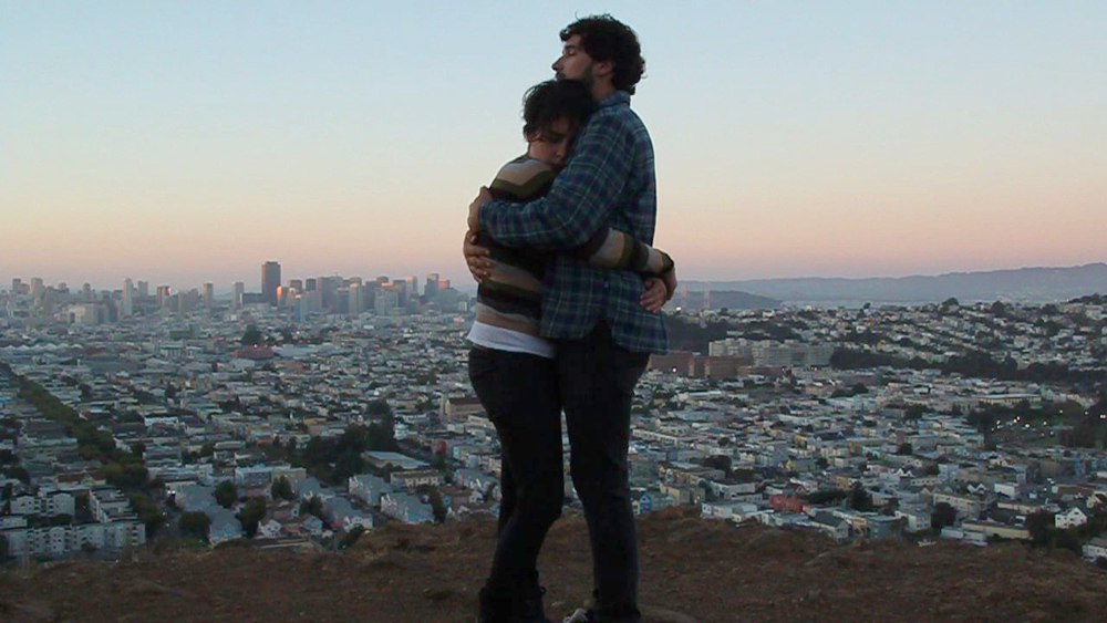 Embrace #2 (Greer and Max, Bernal Hill, 2010)