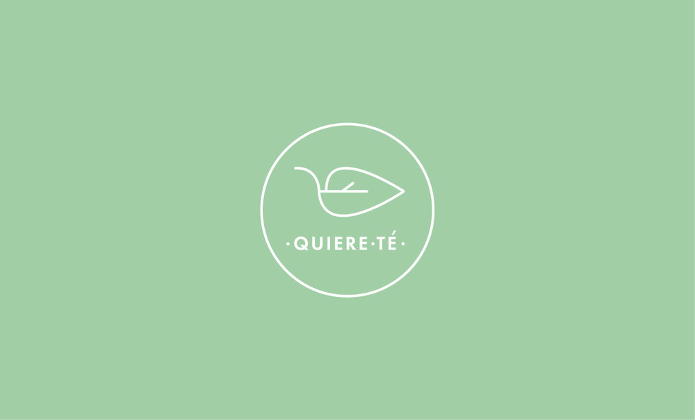 Quierete Branding Logo