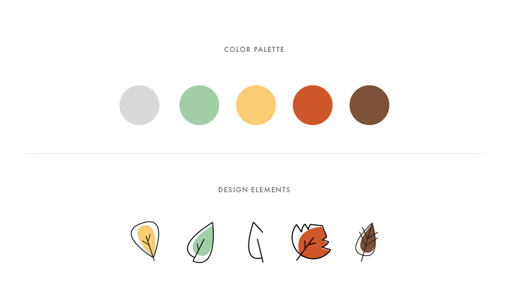 Quierete Branding Color Palette