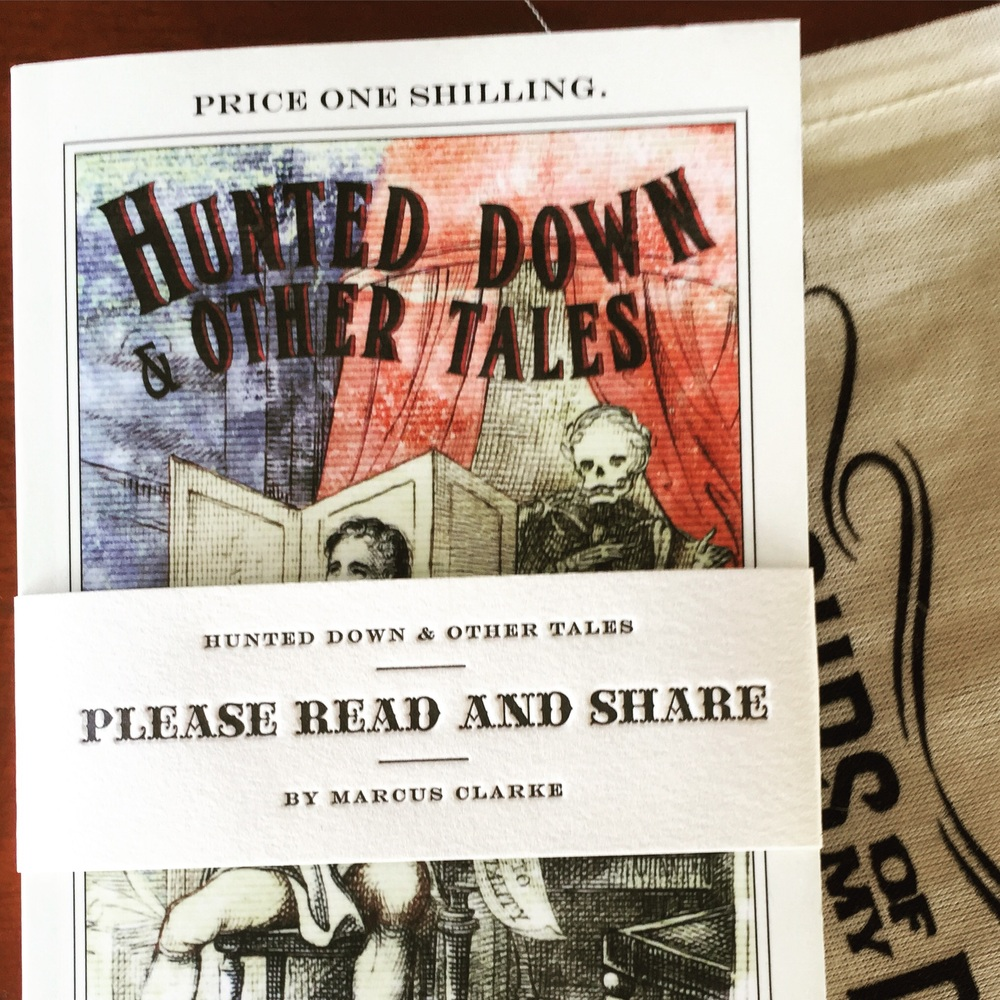 Hunted Down and Other Tales by Marcus Clarke
