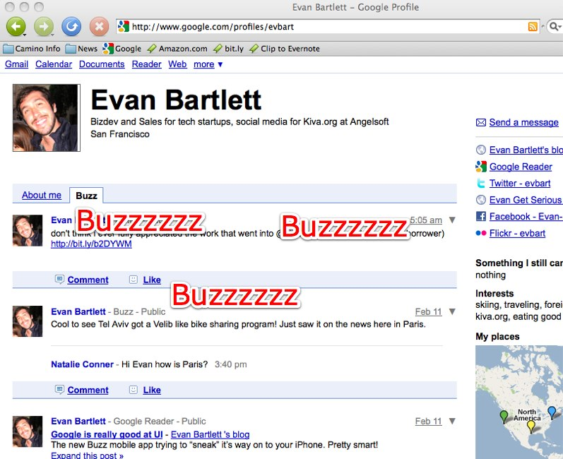 Evan Bartlett - Google Profile