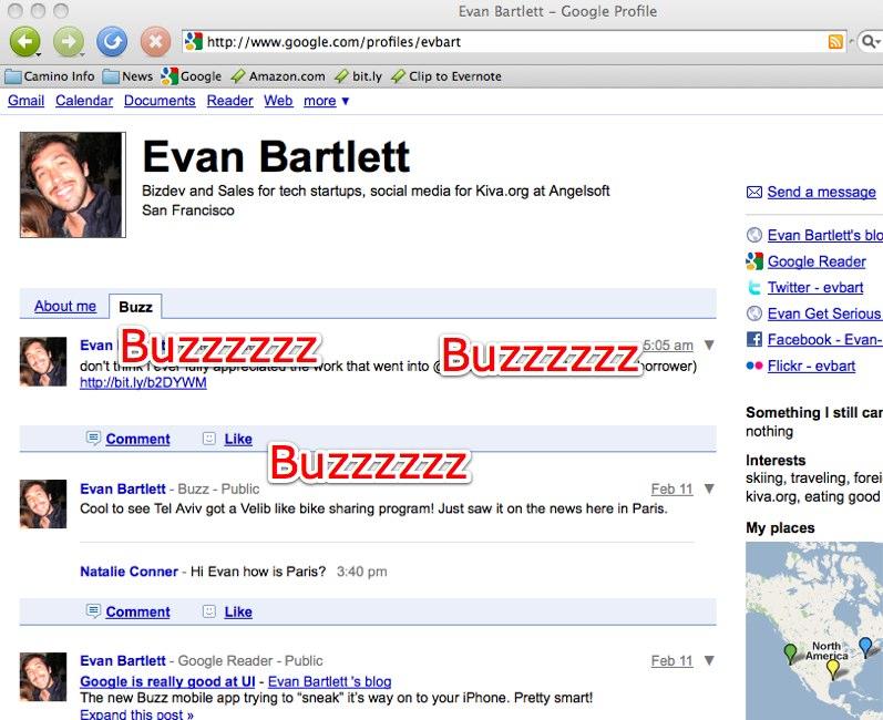 Evan Bartlett - Google Profile