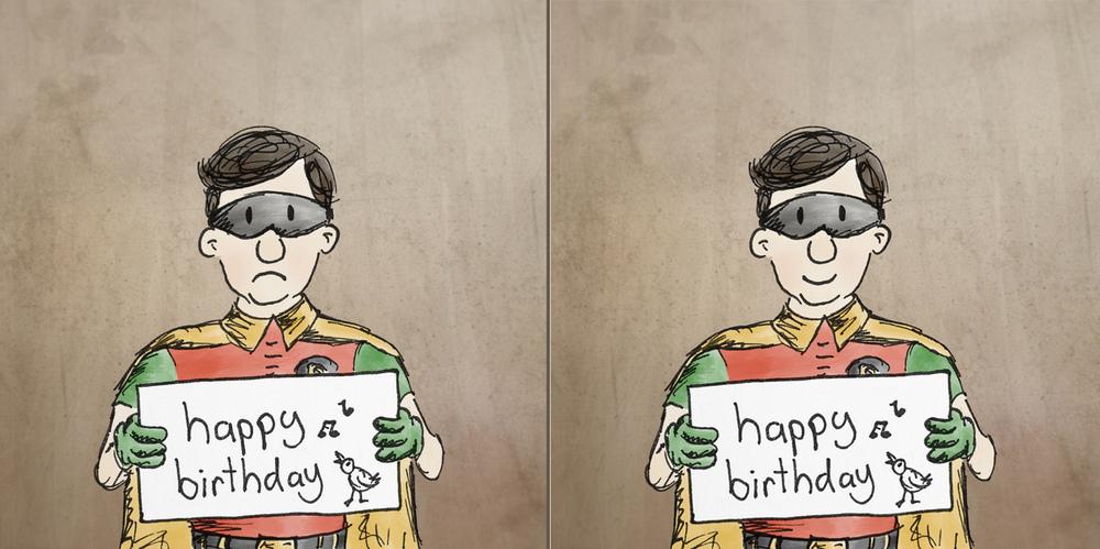 sad Robin, happy Robin