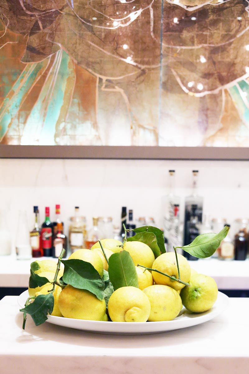 Lemons with glass installation by Emma Peascod. Photo by Susie Bubble.