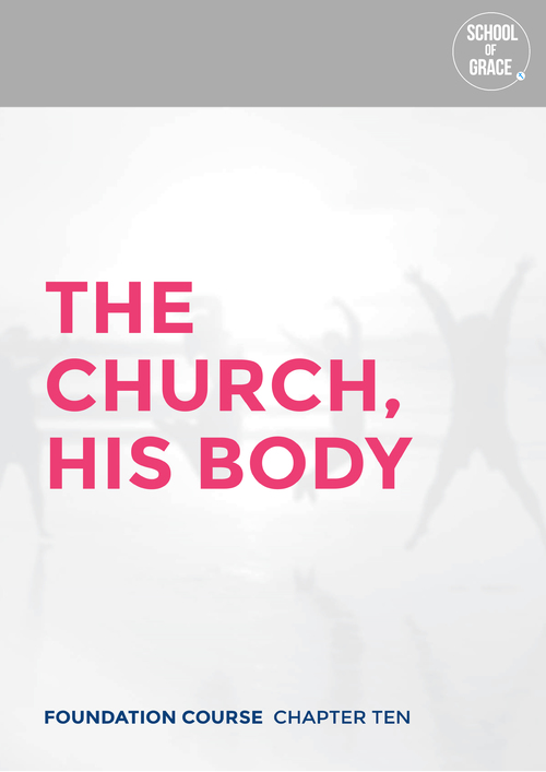 10.2  Gods heart for the church  10.3  Jesus, head of the church  10.4  The believers, the body connected to the head  10.5  The gathering of the church  10.6  Leading and building the church  10.7  Sacraments for the church  10.8  The church, the difference in the world