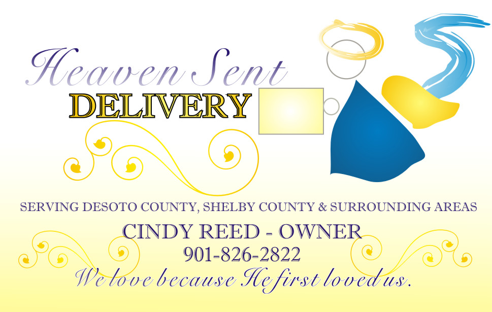 Heaven Sent Delivery, designed by 41:10 Photography