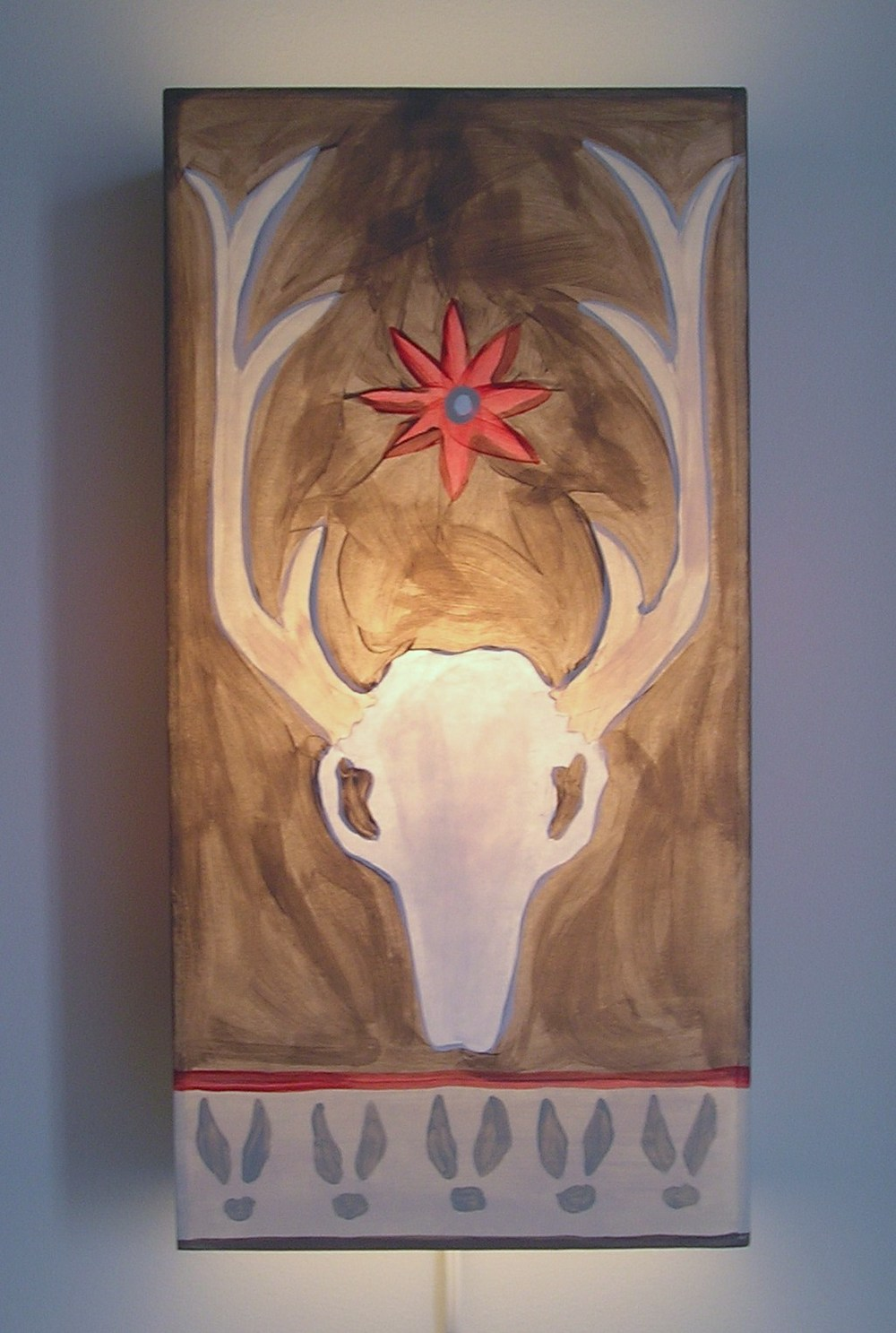 Big Buck Sconce