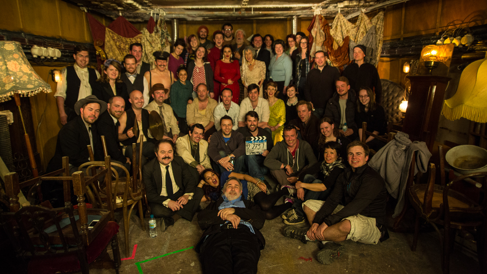 The fantastic cast and crew of The Fitzroy