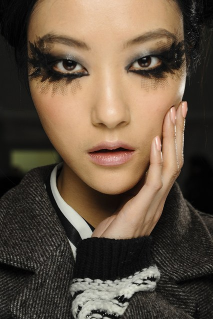 Chanel s/s 2013 couture make up