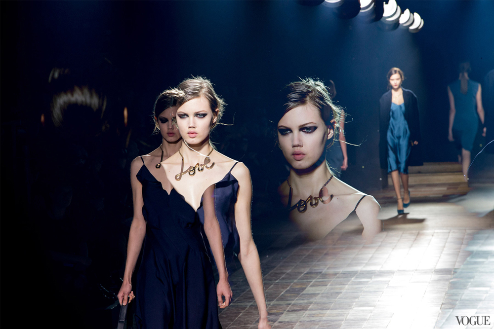 Lindsey Wixson for Lanvin