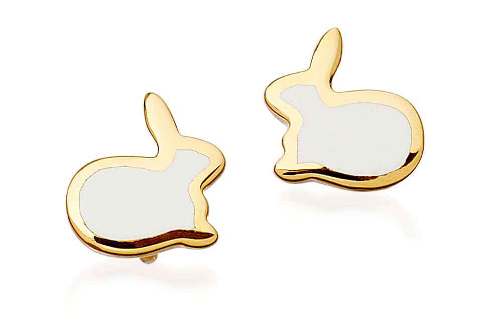 Bunny Love Stud Earrings by Kate Hillier at Astley Clarke