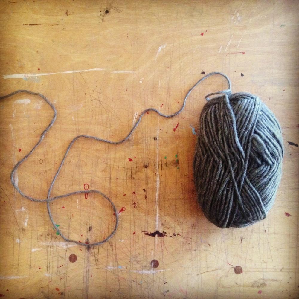 The yarn...