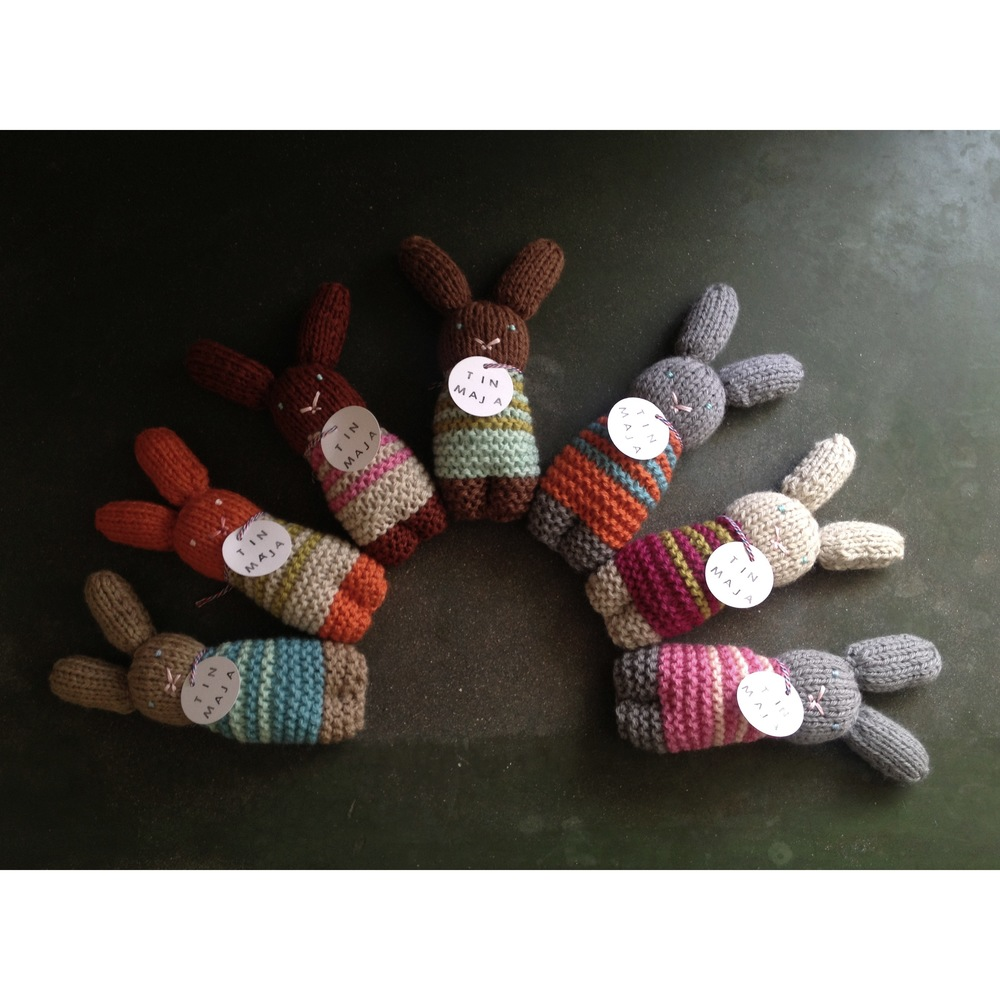 Baby Knit Bunnies, made to order or available in  MAST  boutique