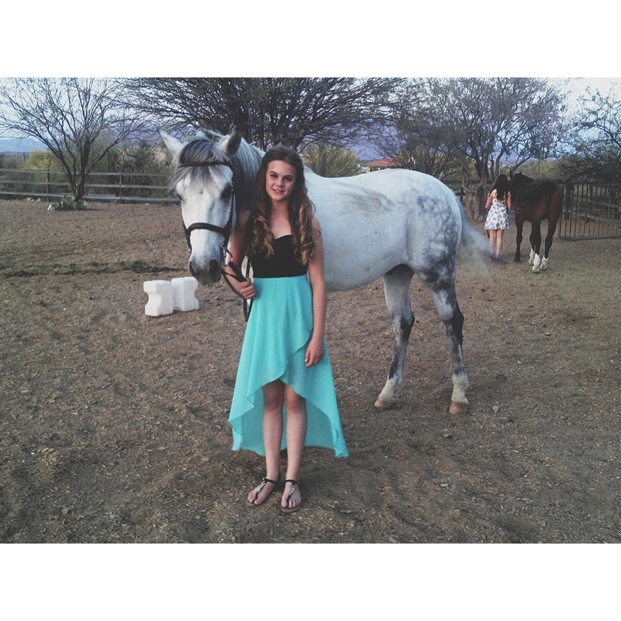Clementine at the  Sarabande Riding Club  Awards Night