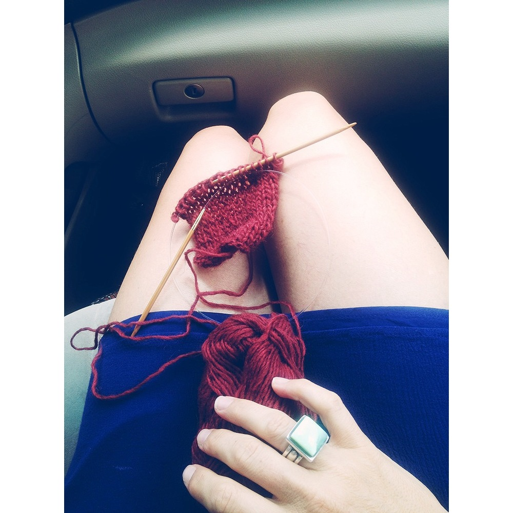 Road knitting