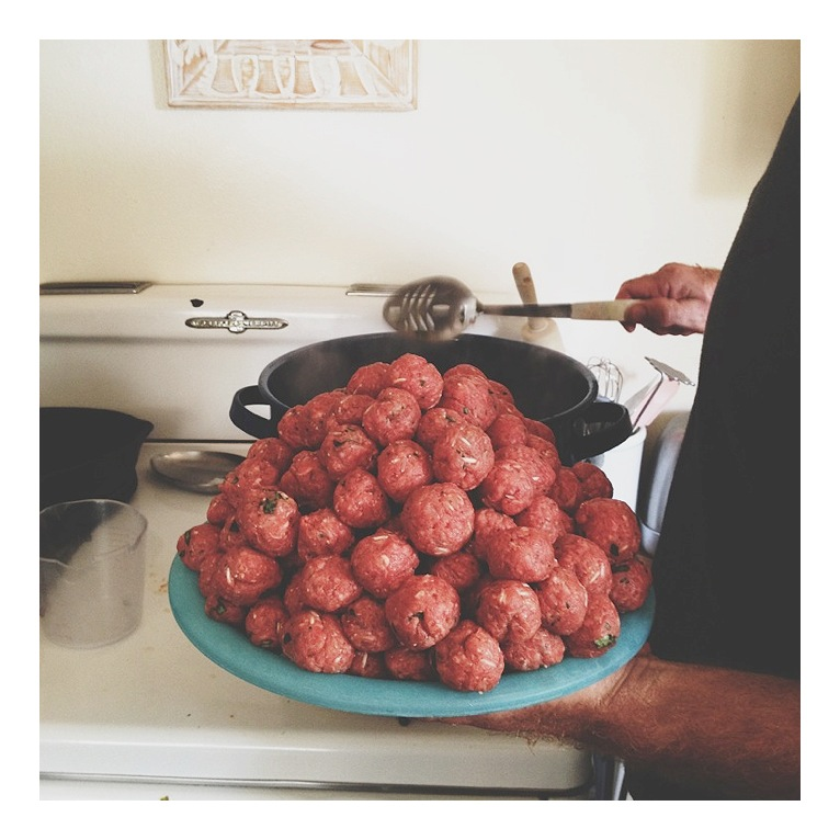Meatballs for the Albondigas