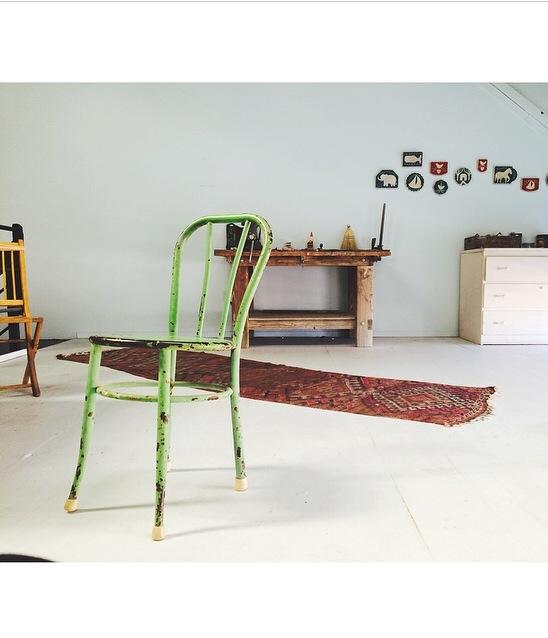 Last year's studio