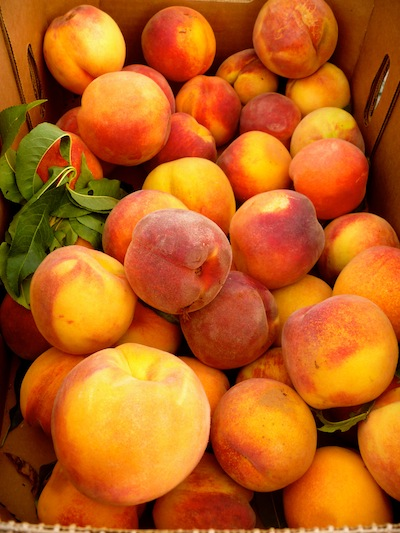Beautiful In-Season Peaches