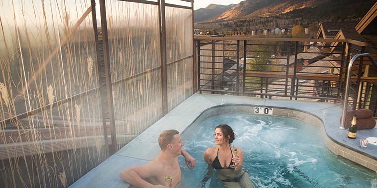 Chill Spa at Hotel Terra in Teton Village