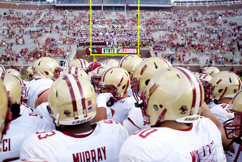 Boston College Players Huddle.jpg