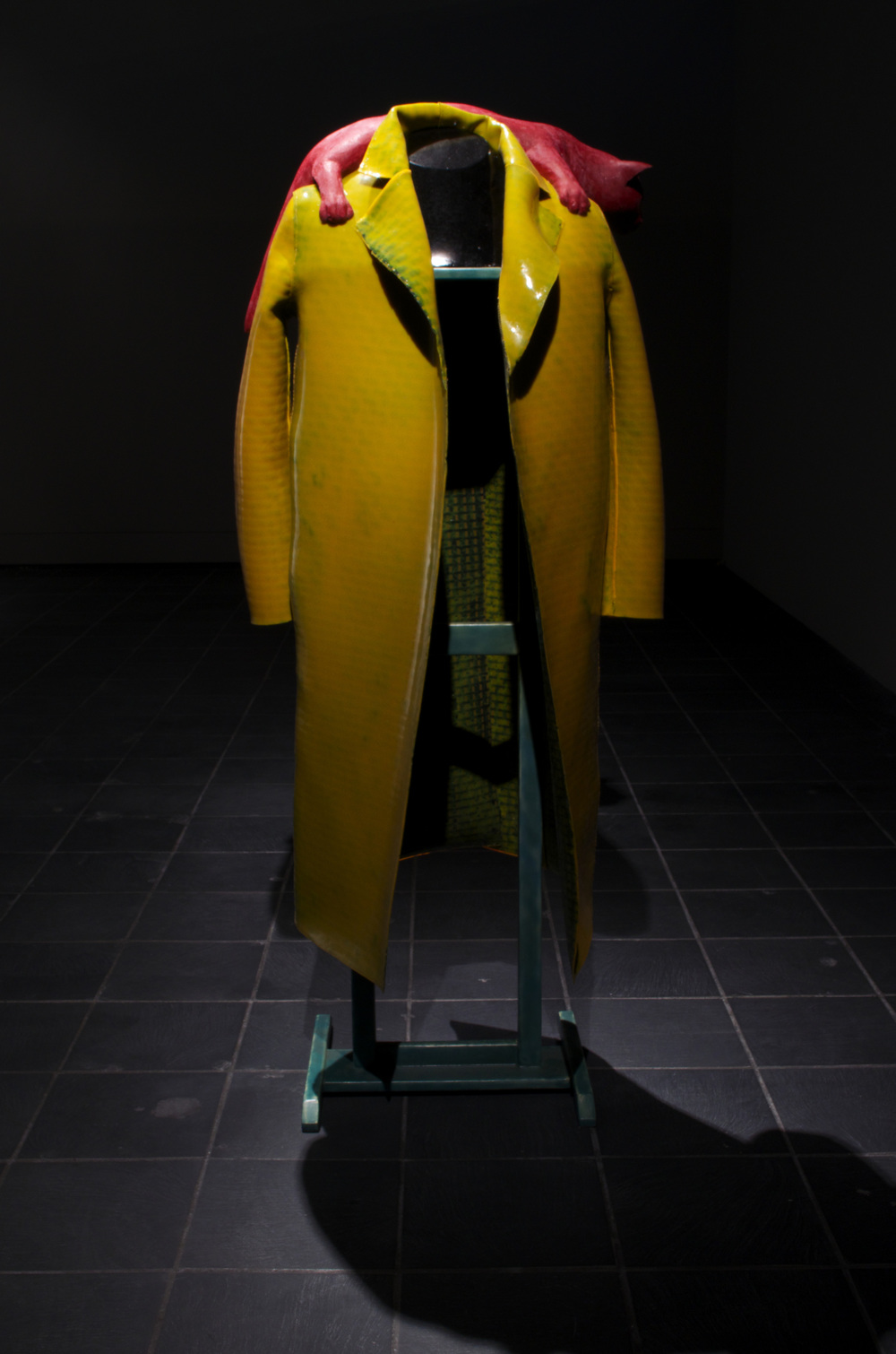 """Self-Reliant Coat For Walking About"""