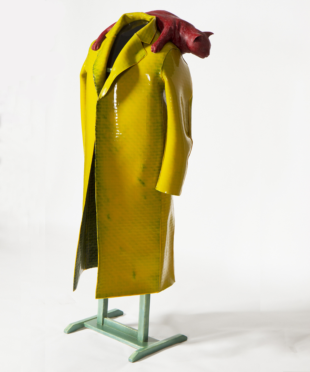 """Self-Reliant Coat For Walking About"" (detail)"