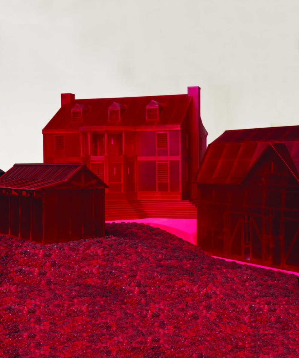"""""""Domestic Fortress"""" (detail)"""