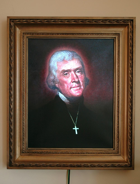 """Thomas Jefferson Reconstructed"""