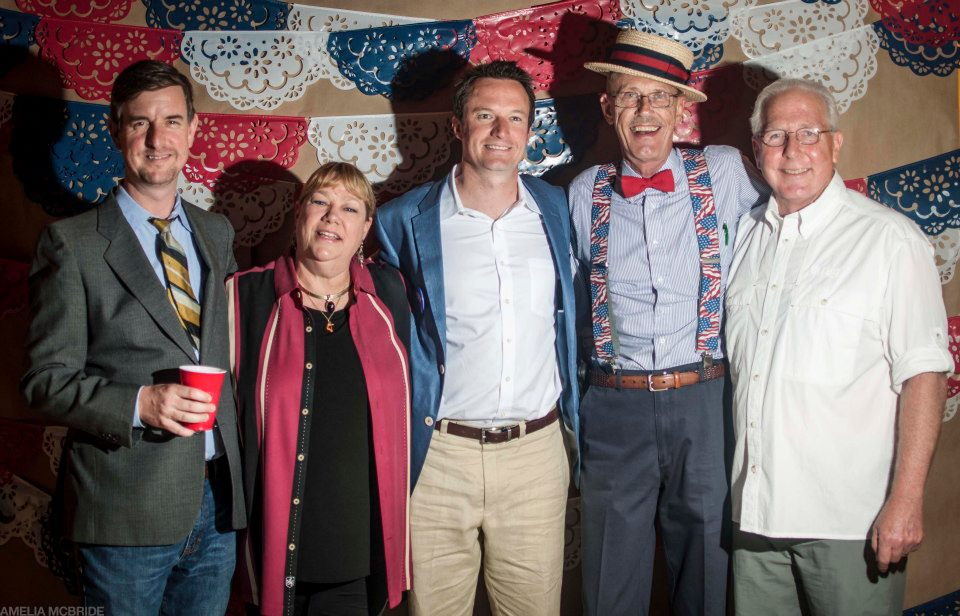 Some familiar faces from our election/relaunch party.   photo by Amelia McBride