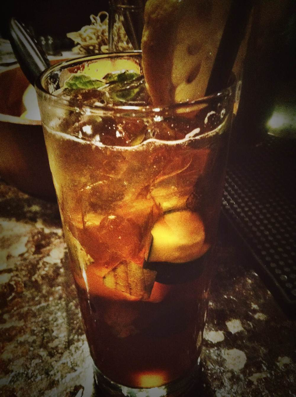 A go-to for keeping cool this summer - the Pimm's Cup at Paschall's