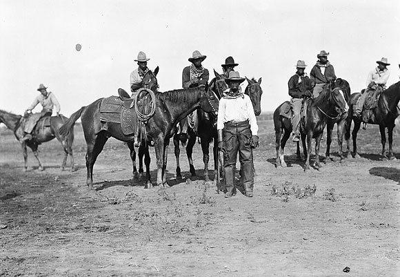 Black cowboys have only recently been re-written into Texas history