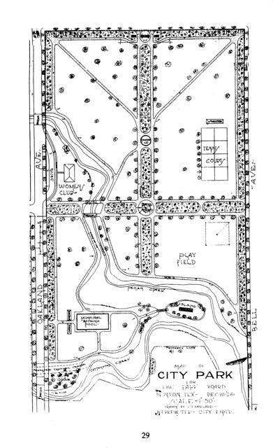 Plans for Quakertown Park