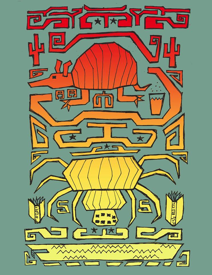 Illustration by Matthew Sallack for Spiderweb Salon
