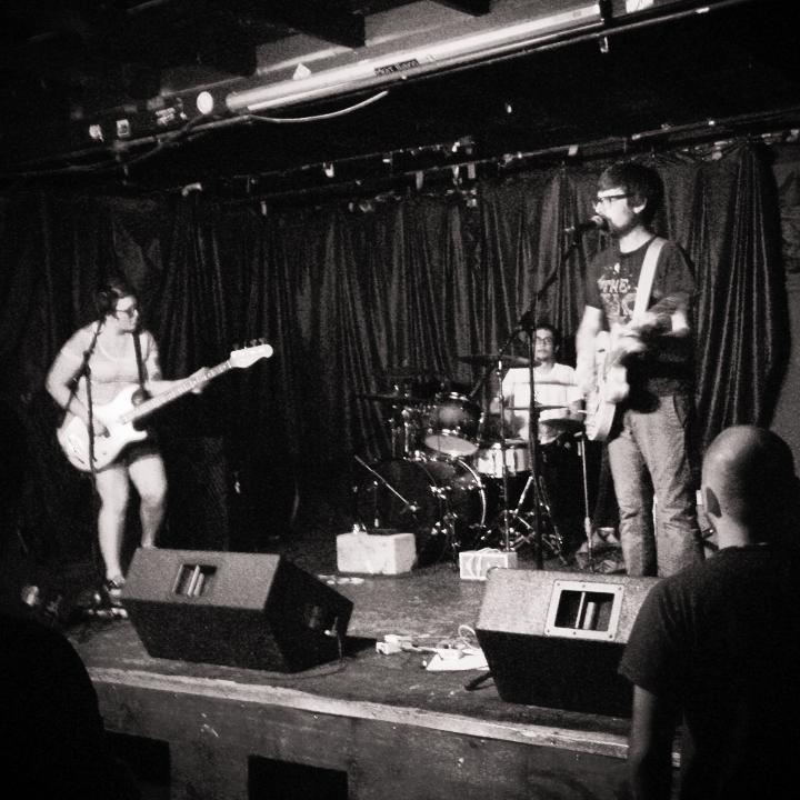FishBoy also made the Free Week scene at Rubber Gloves last night. Luckily @davekoen was there to catch it all.