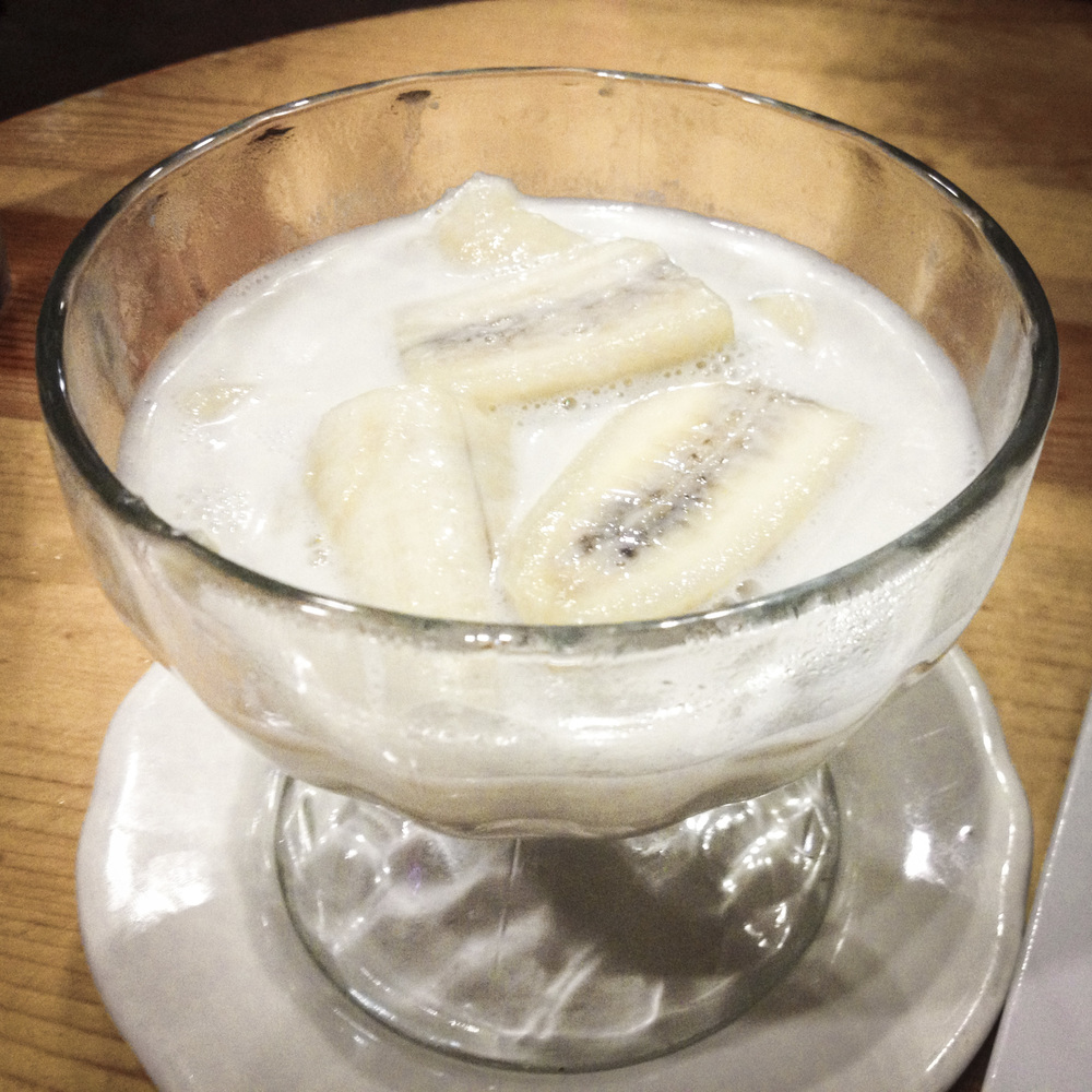 "We remembered why the ""Poached Bananas in Coconut Cream"" at Andaman Thai was our favorite dessert in town."