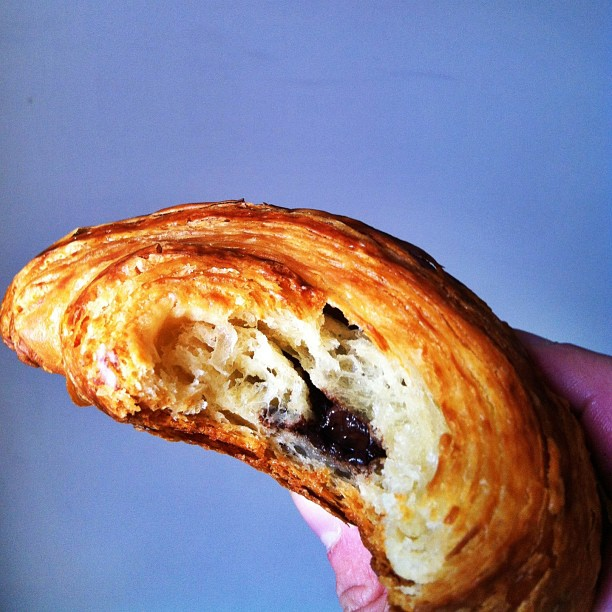 Ravelin's flaky chocolate croissants make for good morning fuel.